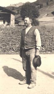 Il bisnonno fondatore dell'impresa edile Cornaglia