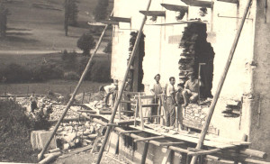 Cantiere in alta valle